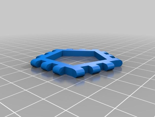 多边形图块 多面体 3D模型  图11