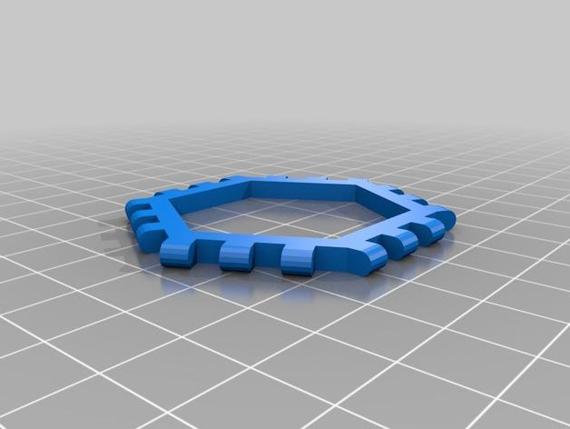 多边形图块 多面体 3D模型  图12