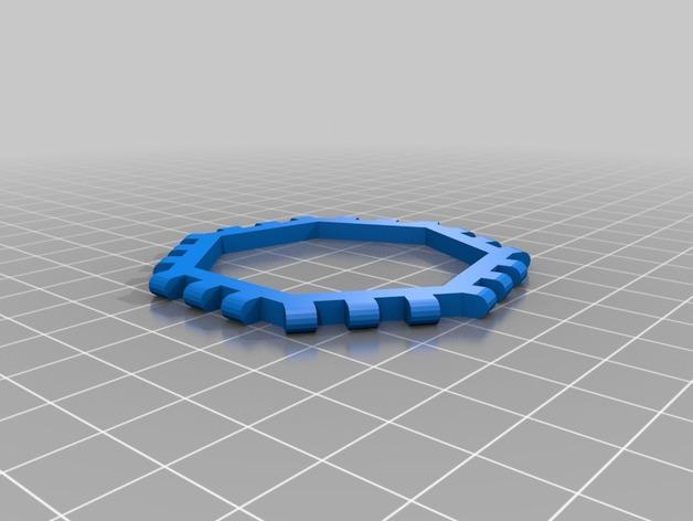 多边形图块 多面体 3D模型  图13