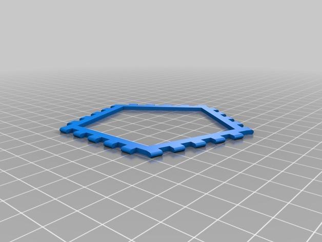 多边形图块 多面体 3D模型  图17