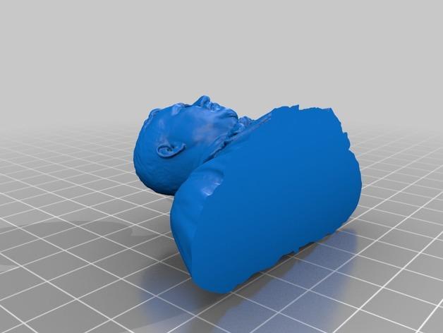 西奥多 罗斯福 3D模型  图2