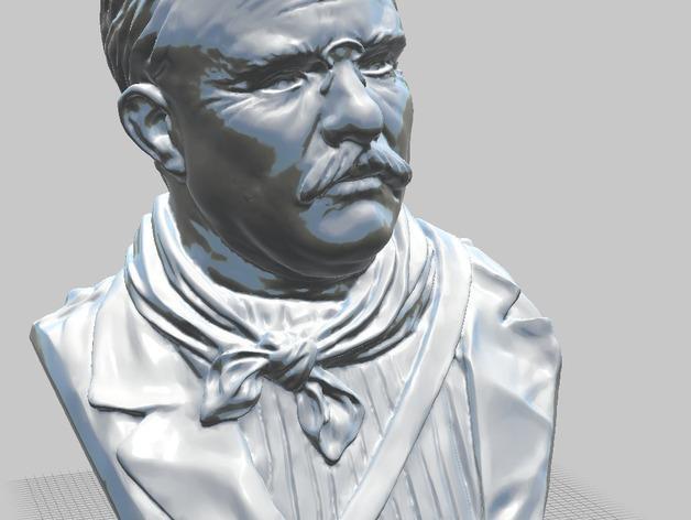 西奥多 罗斯福 3D模型  图5