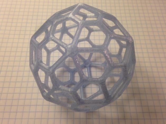 多面体线框几何模型 3D模型  图2
