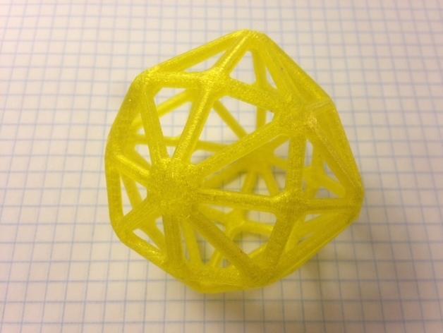 多面体线框几何模型 3D模型  图4