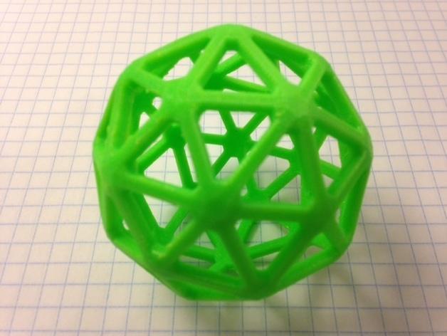 多面体线框几何模型 3D模型  图5