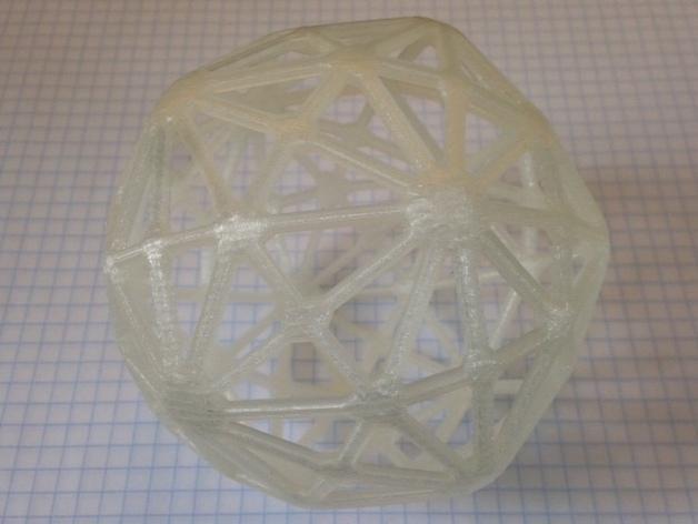 多面体线框几何模型 3D模型  图6
