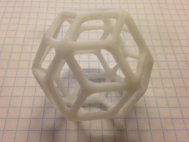 多面体线框几何模型 3D模型  图8