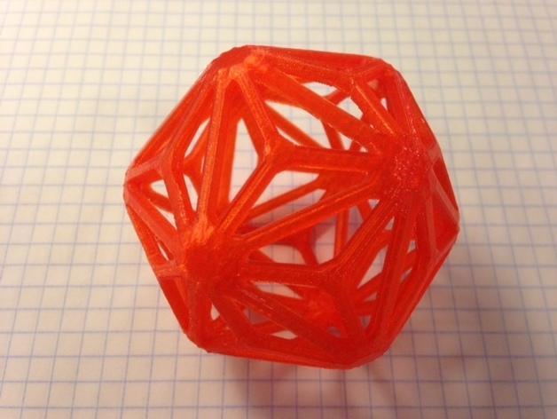 多面体线框几何模型 3D模型  图7
