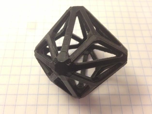 多面体线框几何模型 3D模型  图9