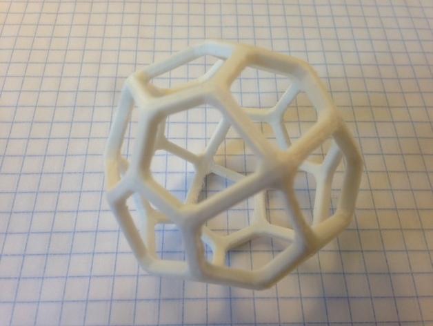 多面体线框几何模型 3D模型  图11