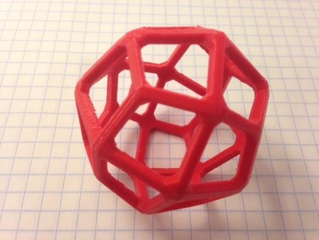 多面体线框几何模型 3D模型  图10