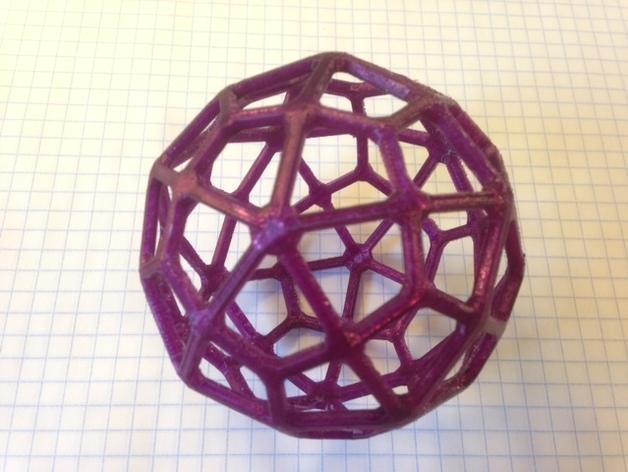 多面体线框几何模型 3D模型  图12