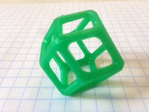多面体线框几何模型 3D模型  图13