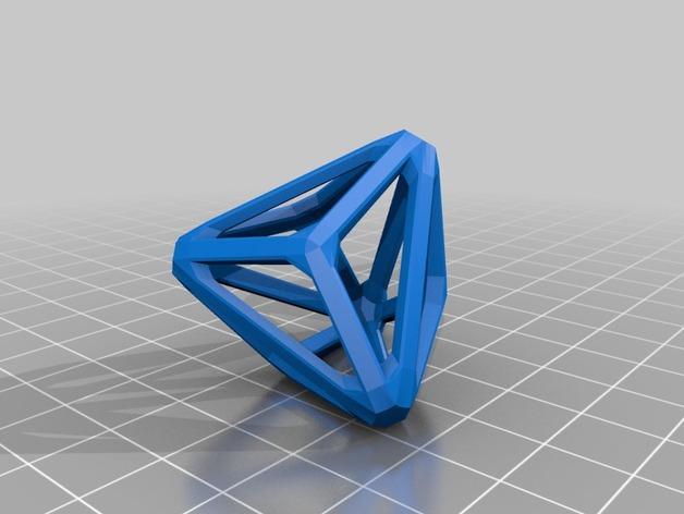 多面体线框几何模型 3D模型  图25
