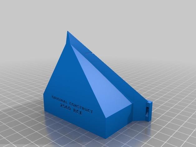 金字塔 3D模型  图2