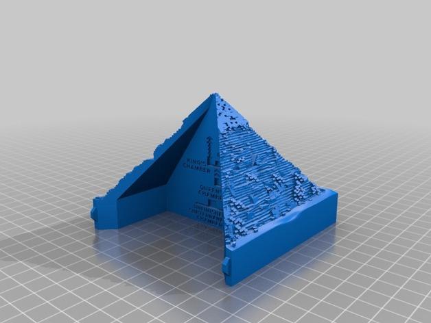 金字塔 3D模型  图3