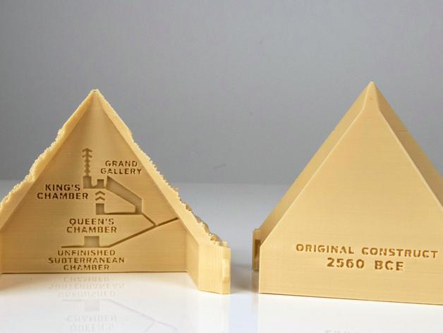金字塔 3D模型  图4