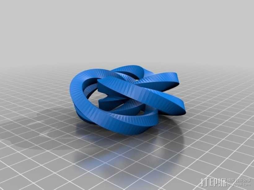 益智游戏 锁螺丝 3D模型  图4