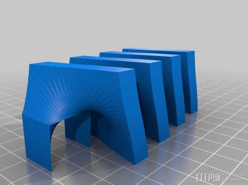 益智游戏 锁螺丝 3D模型  图6