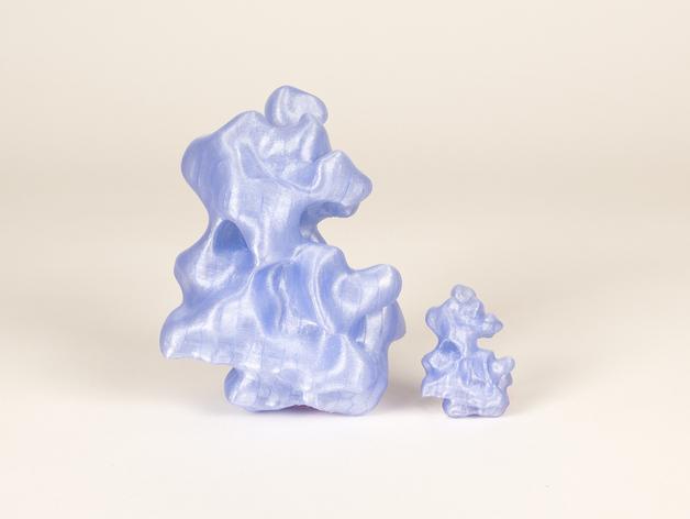 分子模型 3D模型  图3