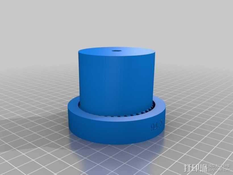 齿轮驱动 3D模型  图4