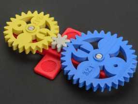 齿轮 3D模型