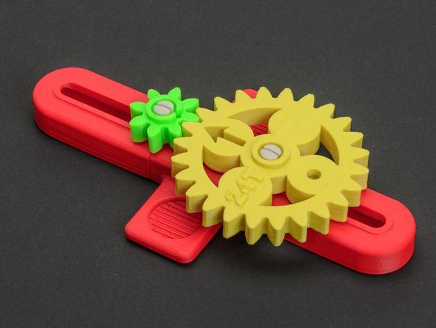 齿轮 3D模型  图6