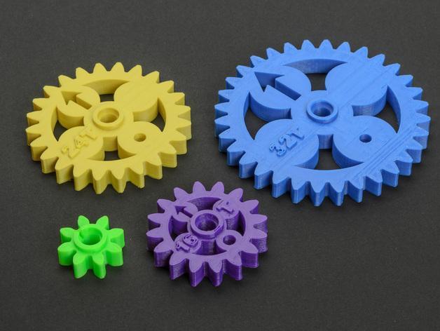 齿轮 3D模型  图5