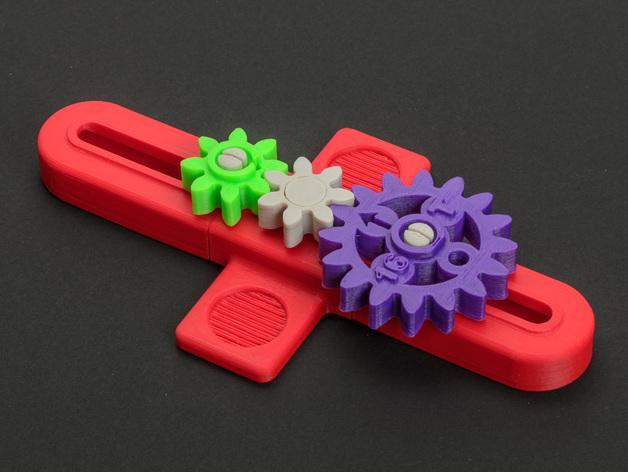 齿轮 3D模型  图8