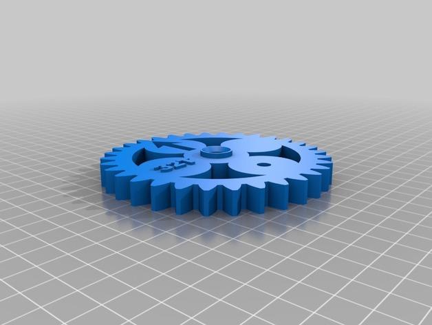 齿轮 3D模型  图14