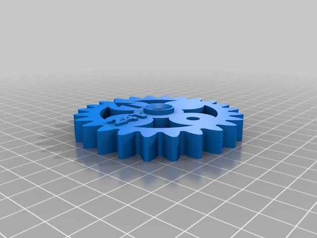 齿轮 3D模型  图15
