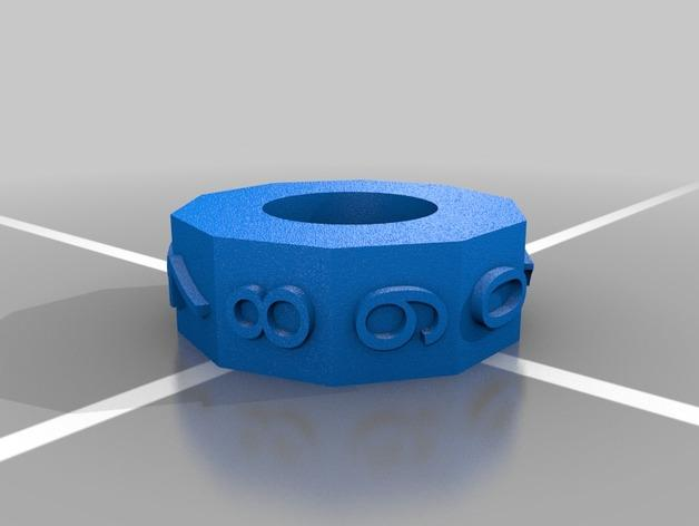 算数轴 3D模型  图7