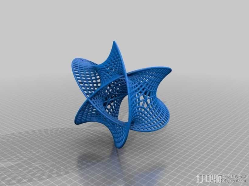 卡拉比 丘流形 模型 3D模型  图2