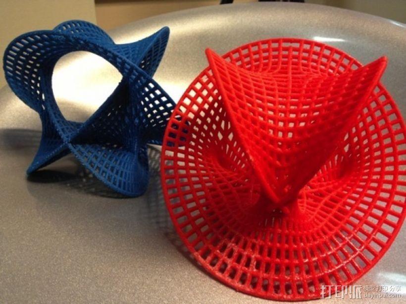 卡拉比 丘流形 模型 3D模型  图4