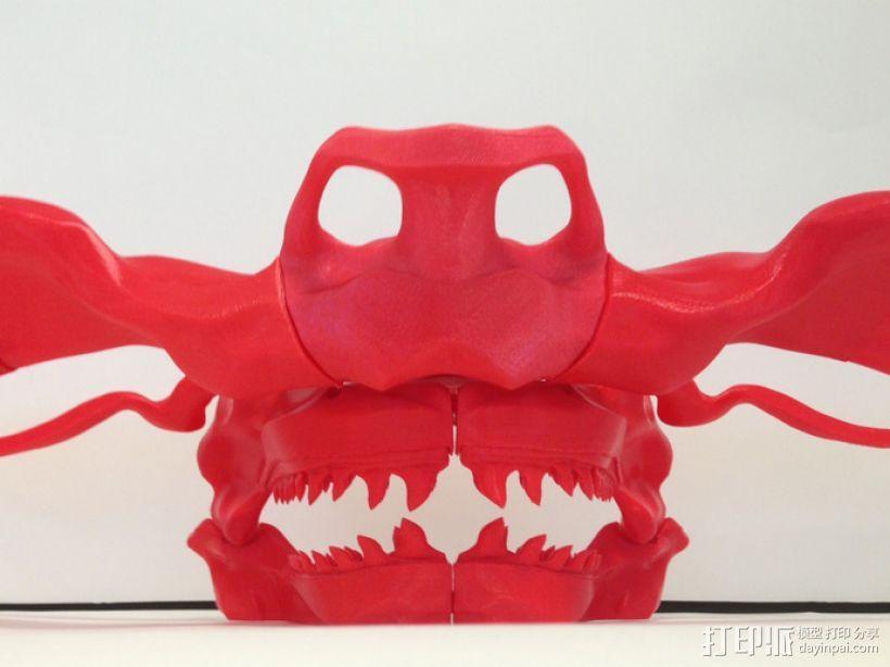 巴哈马锤头鲨头骨 3D模型  图1