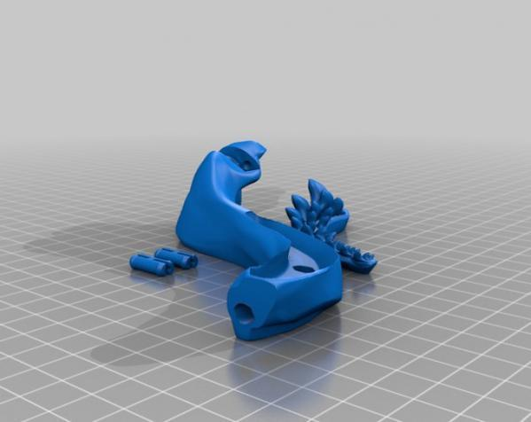 巴哈马锤头鲨头骨 3D模型  图12