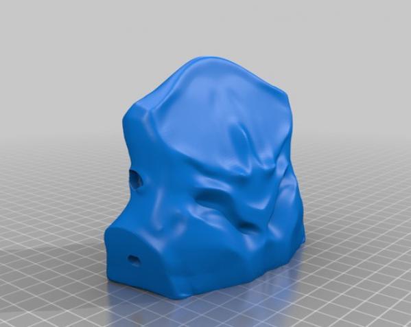 巴哈马锤头鲨头骨 3D模型  图13