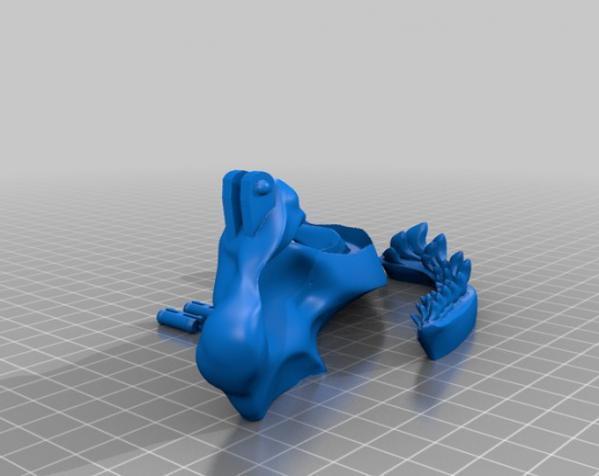 巴哈马锤头鲨头骨 3D模型  图15