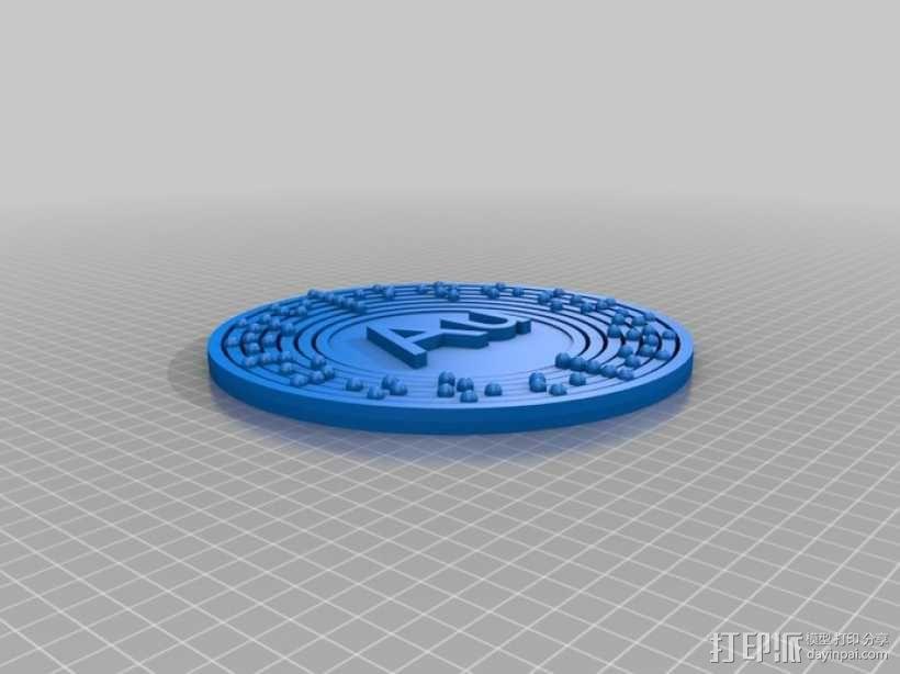 原子 模型 3D模型  图2