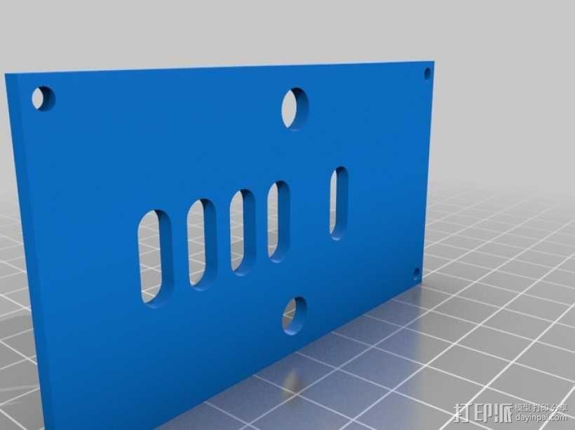 Turbo Entabulator -- 3D打印手摇计算机 3D模型  图5