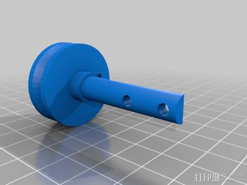 Turbo Entabulator -- 3D打印手摇计算机 3D模型  图11