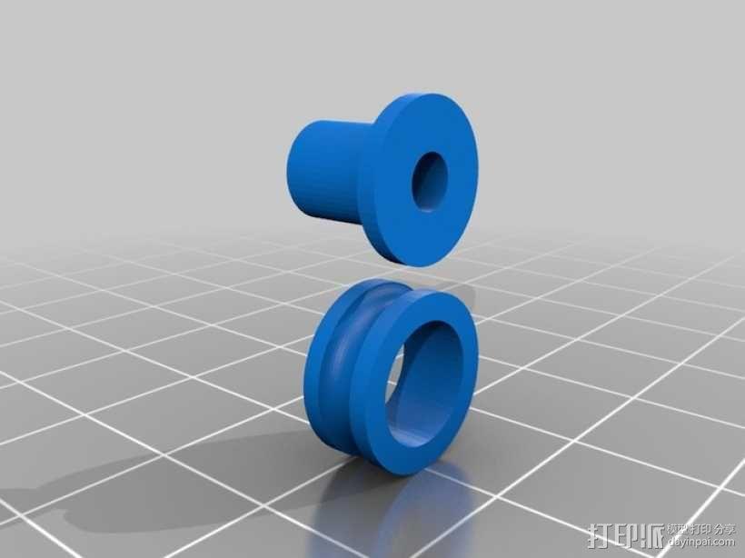Turbo Entabulator -- 3D打印手摇计算机 3D模型  图18