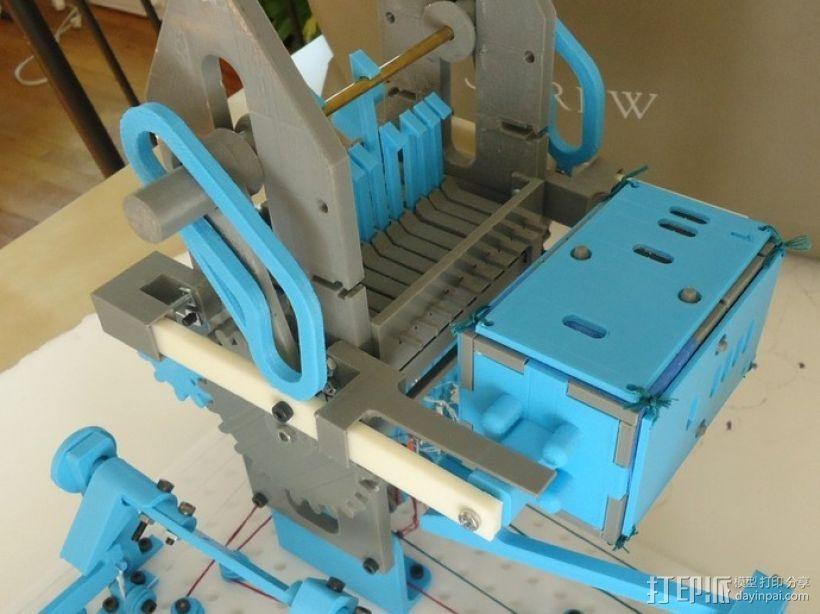 Turbo Entabulator -- 3D打印手摇计算机 3D模型  图22
