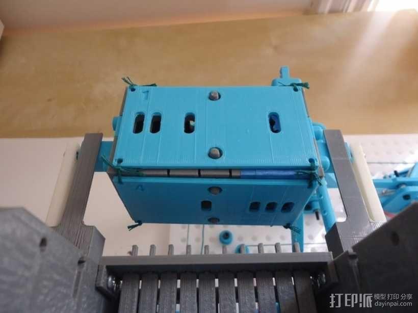 Turbo Entabulator -- 3D打印手摇计算机 3D模型  图20