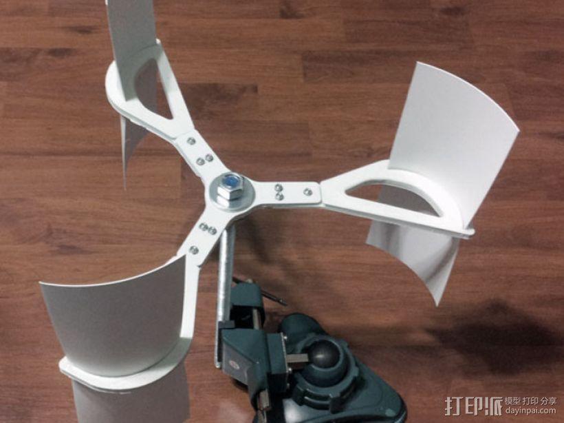 竖轴风车 3D模型  图1
