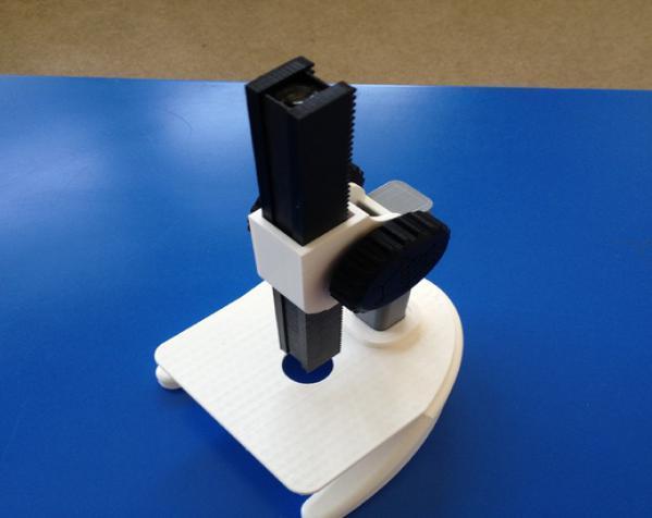 显微镜 3D模型  图3