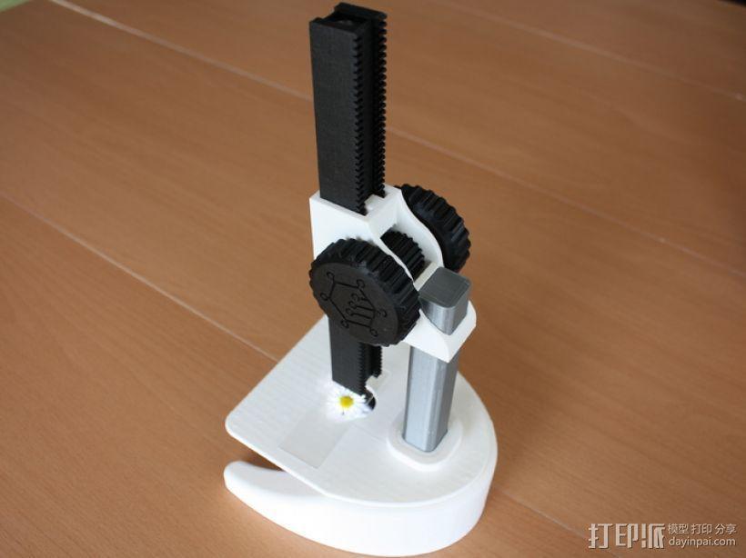 显微镜 3D模型  图1