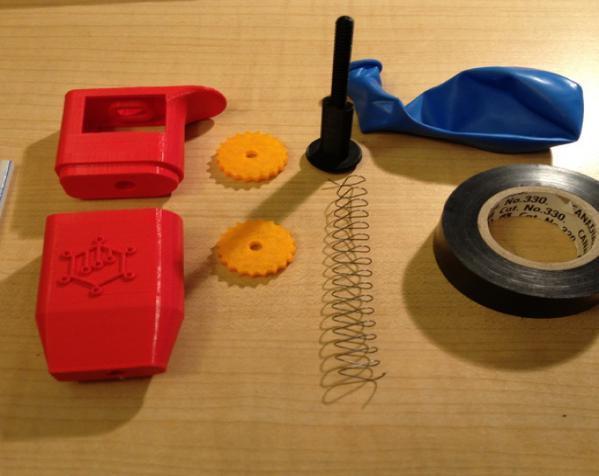 可调音吸管 3D模型  图4