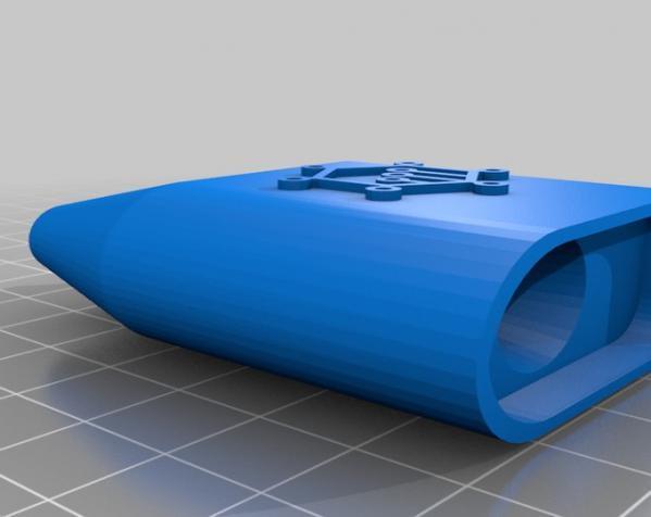 可调音吸管 3D模型  图11