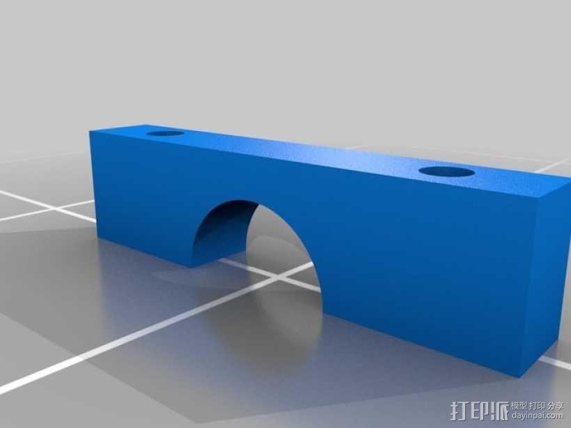 可摆动发动机 3D模型  图4